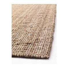 IKEA - LOHALS, Rug, flatwoven, 160x230 cm, , Jute is a durable and recyclable material with natural colour variations.