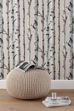 Birch NU Wallpaper Peel and Stick Wallpaper-Birch NU Wallpaper Peel . Birch NU Wallpaper Peel and Stick Wallpaper – Birch NU Wallpaper Peel and Stick Wallpaper Birch N Best Living Room Wallpaper, Nu Wallpaper, Tree Wallpaper Bedroom, Unusual Wallpaper, Birch Tree Wallpaper, Cream Wallpaper, Silver Wallpaper, Peel And Stick Wallpaper, Wallpaper Ideas