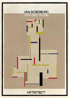 Galeria de ARTISTECT: Pinturas famosas com detalhes arquitetônicos - 5