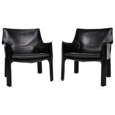 Mario Bellini Cab lounge chairs