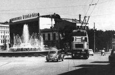 A Coruña. Plaza de Cuatro Caminos y Fábrica de cervezas de Estrella Galicia en su ubicación original, que se trasladaría al plígono de La Grela a principios de los 70