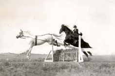 sidesaddle jumping in tandem