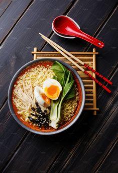 South Korean Food, Korean Street Food, Asian Recipes, Healthy Recipes, Healthy Food, Food Photography Tips, Ramen Photography, Food Flatlay, Asian Noodles