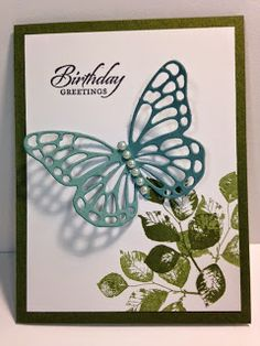 My Creative Corner!: A Kinda Eclectic and Thinlits Butterfly Birthday