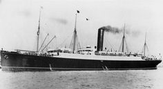 The Carpathia that came to the rescue. RMS Titanic Remembered