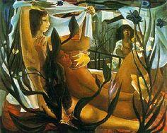 Storm(1962) - Oil on Canvas - Di Cavalcanti.