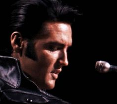 """thewonderofelvis: """"On June 27, 1968, Elvis performed his first live shows in more than seven years, which were taped and included in the NBC-TV special called """"Elvis"""". """""""