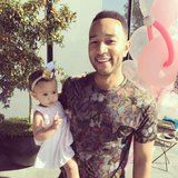 """Grab the Tissues Because John Legend's Talking About """"Different Kind of Love"""" He Has For Daughter more at my site You-be-fit.com"""