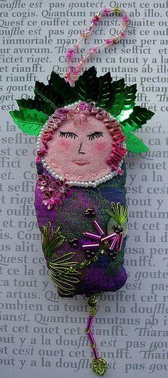Dotee Doll By Boxoftrix  Yvonne Moxon