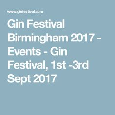 Buy Gin from Gin Festival. Over 200 of the world's best gins available online. Plus great gifts for gin lovers. Gifts For Gin Lovers, Gin Festival, 2017 Events, Best Gin, Birmingham, Places, Lugares