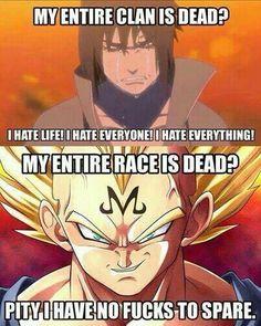 #Naruto #VS #DBZ