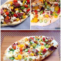 用事があったので一緒に食べられるか分からなかったし、間に合わないかもと急いで作ったにはふんわりもっちり美味しかったです✌️残りの生地どうしようかと話題に出したらオニオンブレッド良いんじゃないとアイディア✌️ 早速朝ご飯ように焼いてみよぉ - 96件のもぐもぐ - Sucuklu Yumurtali Pide<スジュクル・ユムルタル・ピデ> wrapped baked pizzaトルコの舟形ピザ by honeybunnyb