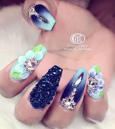 Coffin Nails. | N a i l f i e. | Acyrlic nails, Nails, Gel ...