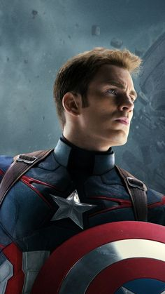 Lovely Captain America iPhone 8 Wallpaper