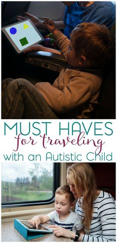 If you're planing to travel with your autistic child, whether it's a weekend getaway or a cross country trek; be sure to check out my must have items for traveling. I'd also love to know what items you consider to be must have. #empoweringdifferent #ad