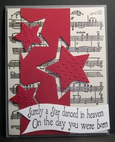Dancing Stars by francliff - Cards and Paper Crafts at Splitcoaststampers