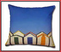 DECOR - beach hut Cushions, Throw Pillows, Beach, Decor, Cushion, Decorative Pillows, Seaside, Decorating, Pillows
