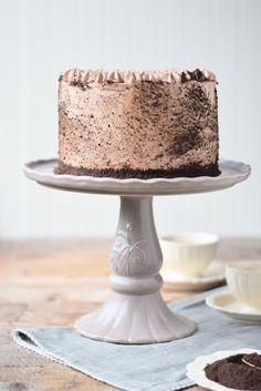 Schoko Cheesecake Torte