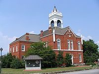 Union County Courthouse. Blairsville, GA. Built in 1889.