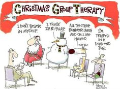 Christmas Group Therapy.