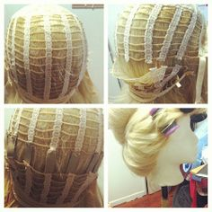How to enlarge a too small wig cap! Works great for updo a4d3f5d87eb3