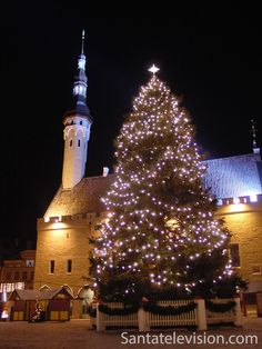 Рождественская ярмарка в Таллине, в Эстонии