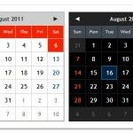 10 Beautiful jQuery Calendar Plugins
