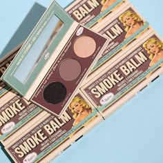 The Balm smoke palette // Patrizia Conde Smokey Eye Palette, Eyeshadow Palette, Beauty Makeup, Eye Makeup, Too Much Makeup, Makeup Needs, Makeup Brands, Makeup Products, Beauty Products