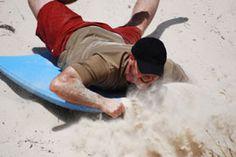 Sandboarding at Mount Mayhem Benoni.