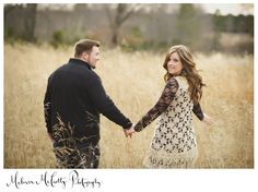 Love the look back- engagement pic idea