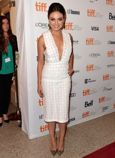 Fabulously Spotted: Mila Kunis WearingBurberry Prorsum – 'Third Person' Premiere 2013 Toronto International Film Festival - http://www.becauseiamfabulous.com/2013/09/mila-kunis-wearingburberry-prorsum-third-person-premiere-2013-toronto-international-film-festival/
