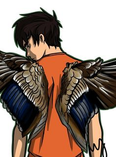 Percy with, what looks like, Blackjack's wings. Just thought this looked really cool, so decided to pin.