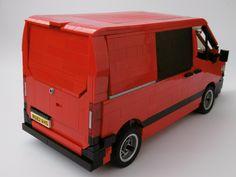 Sprinter Van, Mercedes Sprinter, Lego Van, Transporter Van, Lego Racers, Lego Truck, Lego City Police, Lego Design, Lego Technic