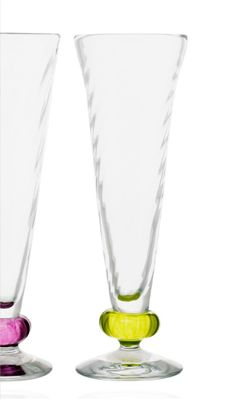 Glastornet Studioglashytta - Malin Mena Champagneglas