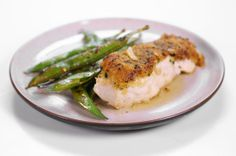 "Michael Symon's Mustard Crusted Halibut in Butter Sauce ""the chew"""