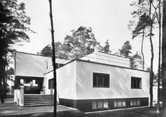 Walter Gropius.Meisterhäuser Dessau (Haus Gropius).1926