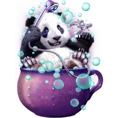 DIY Diamond Painting Panda Owl Bear Cross Craft Stitch Embroidery Tools for Home Wall Decor Art (B) Niedlicher Panda, Panda Love, Panda Wallpapers, Cute Wallpapers, Animal Pictures, Cute Pictures, Panda Lindo, Cute Panda Wallpaper, Baby Animals