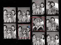 Pat Smear, Dave Grohl, Aberdeen, Banda Nirvana, Kurt Cobain Photos, Morrison Hotel, Contact Sheet, Him Band, Rolling Stones