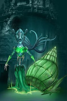 The sirens are caught stuck on the oceanfloor by the curse that was cast upon them by the old ones from the deep... #Sirens #Witch #Thedeep