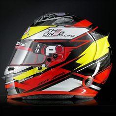 "6077bc5aeae63 Aerostyle on Instagram  ""Exposed carbon fiber and aggressive edges for this  BELL RS7 Carbon 👌  jeff.jiang   kartactu  aerostyle  helmet  arai   araihelmets ..."