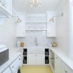 Laundry Room Shelves, Transitional, laundry room, Luxe Design Build