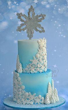 Frozen Cake!! by Hima bindu