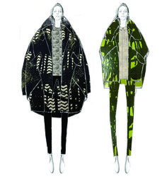 Modeconnect.com talks to Chinese designer Mingyu Du about her 'Revival' collection inspired by the 1960's mod culture.