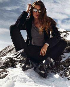 Nadejda Savcova By Xavi Gordo In 'Slalom de Estilo' For Elle Spain January2014 - 8 Style | Sensuality Living - Anne of Carversville Women's...