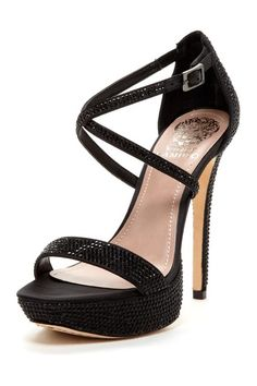 Gernetto Rhinestone High Heel (nice for partying!)