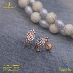 Get In Touch With us on Diamond Earrings Indian, Gold Jhumka Earrings, Indian Jewelry Earrings, Diamond Earing, Jewelry Design Earrings, Gold Earrings Designs, Diamond Jewellery, Kids Earrings, Cuff Earrings