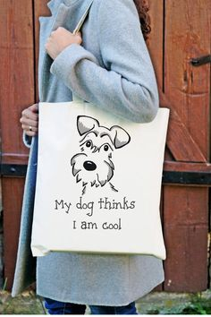 Artículos similares a Pet handpainted bag, gift idea for her, comfortable large bags documents personalized, Schnauzer cotton sac dog mom gift object with a dog en Etsy Embroidery Transfers, Embroidery Patterns, Sewing Patterns, Funny Throw Pillows, Tie Dye Crafts, Diy Tote Bag, Pouch Pattern, Fabric Bags, Printed Bags
