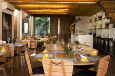 Quintal das Letras, restaurante da Pousada Literária, no centro histórico de Paraty.