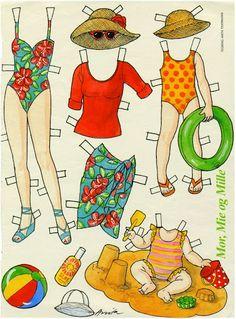Mor,Mie,Mills Paper Dolls - MaryAnn - Picasa Web Albums