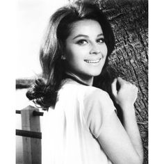 Great black-and-white still of Sherry Jackson, showing off her pretty hair and pretty smile. Sherry Jackson, Yvonne Craig, Anna Karina, Child Actresses, Actors & Actresses, Hollywood Tv Series, Katharine Ross, Beautiful Girl Body